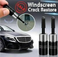 2x Car Automotive Glass Nano Repair Fluid Glass Crack Chip Windscreen Repair New