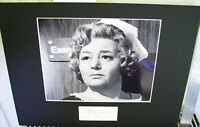 HATTIE JACQUES CARRY ON DOCTOR TOP QUALITY SIGNED AUTOGRAPH CUT DISPLAY UACC