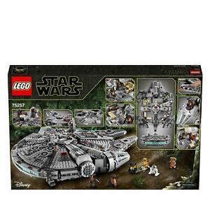 75257 LEGO DISNEY STAR WARS MILLENNIUM FALCON  NUOVO ORIGINALE
