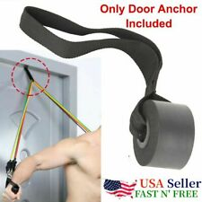 Yoga Over Door Anchor Fitness Resistance Bands Elastic Band Tube Home Exercise