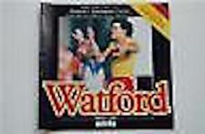 Watford V Nottingham Forest Programa 21 Apr 1986