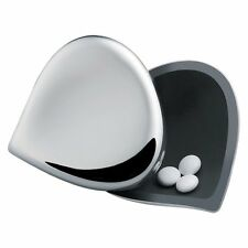 """Alessi """"Chestnut"""" Stainless Steel Pill Box"""