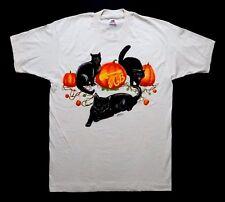 Grateful Dead Shirt T Shirt Jerry Garcia Band Halloween 10/31/1993 Pumpkin Cats