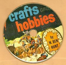 Ben Hunt  CRAFTS & HOBBIES, how to book on  CD-ROM