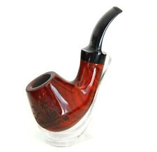 "New Sailboat carving design sandal wood Handmade tobacco Pipe, 4.5"" long,"