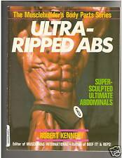 Ultra-Ripped Abs Bodybuilding Muscle Book by Robert Kennedy