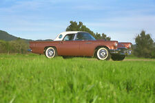 521002 Ford Thunderbird 1957 A4 Photo Print