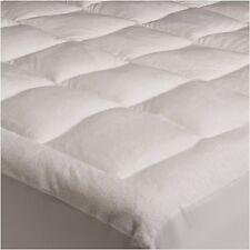 Pinzon Microplush Mattress Pad Cover Topper CA KING Size Bed Micro Plush Sleep