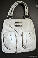 GUESS Regan Shopper Tote White Bag Handbag Sac Bolsa NWT
