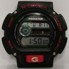 Aquastar No. 4491 Watch Only No Band Works Water Resistant G-SHOCK Stainless