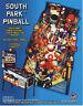 South Park Pinball Sega Game Flyer Brochure Promo Ad 1998