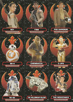 Topps Star Wars Journey to The Force Awakens Heroes of the Resistance You Pick