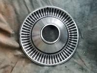 """1 OEM 60-80's JEEP 15"""" STAINLESS STEEL ALL METAL HUBCAP 4X4 open hole"""