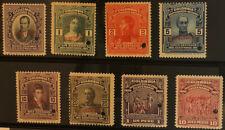 COLOMBIA  331 - 338  Rare  Mint  Never  Hinged  SPECIMEN  Set   PEN13