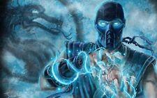 Mortal Kombat Poster Length : 1200 mm Height: 750 mm  SKU: 513