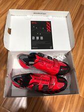 Bontrager XXX Mountain Bike Shoes Red size 42 US  9 Retail $399