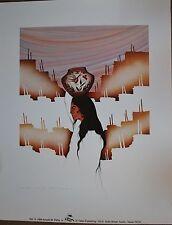 "Amado Pena Mini Prints ""ZIA""  1984 (7100) Signed pencil B4 printing 9X7 inch"