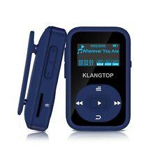 MP3 Player 8GB Bluetooth KLANTOP Digital Clip Music Player with FM Radio Voic...