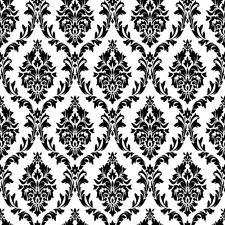 Retro Damask Flower Pattern 8x8 Backdrop Prop Background Photo Show Photography