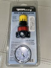 Forney  Plastic  Air Line  Mini Regulator with Gauge  1/4 in. NPT  300 psi 1 pc.