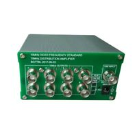 10MHz Frequency Distribution Amplifier 10MHz OCXO Clock Divider 8 Output Port