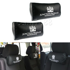 2x JUNCTION PRODUCE VIP Style Car Neck Pillow Headrest Neck Rest Support Cushion
