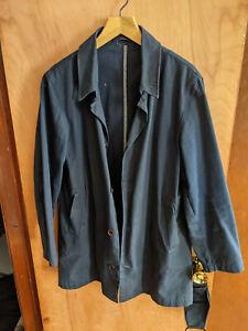 american trench/epaulet mac coat