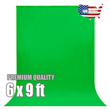 6 x 9 ft Green Screen Backdrop Photo Studio Background Photography Us Seller