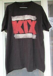 KIX Rock Your Face Off XL Concert Tee Shirt Rock Metal 1980's Band Glam T