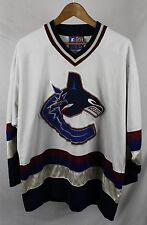 Vintage Vancouver Canucks Starter Jersey Sz L NHL Sewn