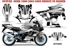AMR RACING DEKOR GRAPHIC KIT SUZUKI GSX-R 600/750/1000/1300 ATTACK B