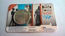 Nederland 2012 Coincard 5 Euro Het Beeldhouwkunst Vijfje UNC (Zwaar Verzilverd)