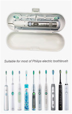 Philips Sonicare Electric Toothbrush Travel Hygienic Case Suitable T.B + 2 Heads