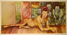 David Bowie 1974 Diamond Dogs Tour Original Mainman Promo Poster / Near Mint