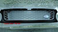 MIT BLACK FRONT SILVER MESH GRILLE FOR RANGE ROVER L320 SPORT MODEL 2010-2013