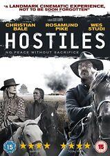 Hostiles DVD Christian Bale  Rosamund Pike New Sealed