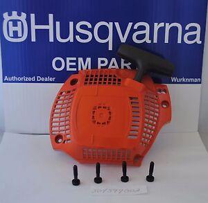 Original Husqvarna Pulley Rope Pulley anwerfrolle STARTER CHAINSAW 40 44 45