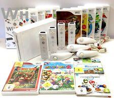 Nintendo Wii Konsole ✅ Controller ✅ Spiele Mario Kart Sonic Party #zum Aussuchen
