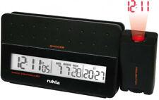 Garde Ruhla Funkwecker mit Projektion - schwarz - RC-Clock 170-1