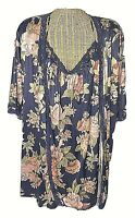 Vintage Lorraine Large Large Floral Nightgown and Robe Set NO TIE USA