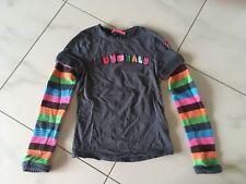 Muy Malo Langarmshirt Sweatshirt Strick-Ärmel Regenbogen 152 Neu Rainbow New