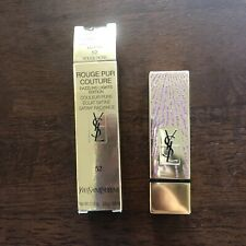 YSL Rouge Pur Couture Lipstick - 52 - Full Size - NIB Holiday Cap