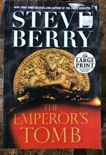 STEVE BERRY EMPERORS TOMB Large Print Soft Cover