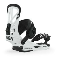 Union Flite Pro Snowboard Bindings Small White (US Men's Size 6-7.5) New 2020