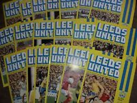 Leeds United HOME programmes 1978/79 and 1979/80
