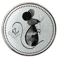 2020 Rattenjahr Hundert Millionen chinesische Gedenkmünzen Challenge Coins-ZJP
