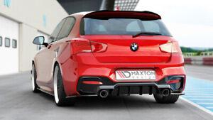 Diffusor Heckansatz für BMW F20 F21 M135i M140i Heckdiffusor Heckschürze M Paket