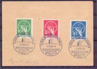 Berlin 1949 - Währungsgesch.- MiNr.68/70 gest. auf Beleg - Michel 600,00 € (758)