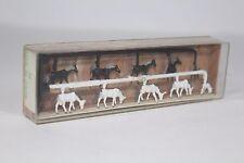 N Eisenbahn 2408 Merten Figuren Tiere Pferde Fohlen 10 Stück Packung  Aw51122