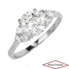 Estate 1.84ct Diamond 18K Gold Engagement Ring NR